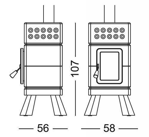 Mini Stack Dimensions