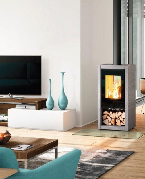 double sided stove