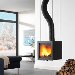 Dik Geurts Bora Flex is a designer wood stove