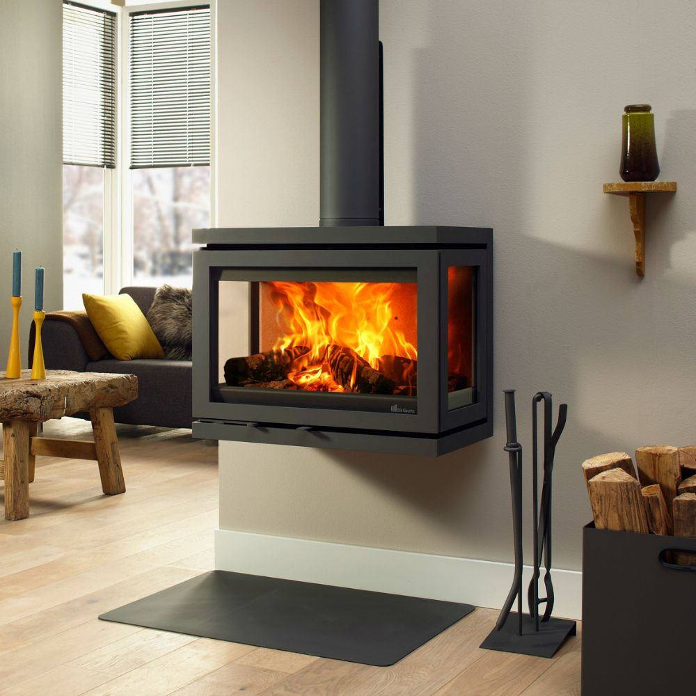 Stupendous Dik Geurts Vidar Wall Woodburning Stove 6Kw Best Image Libraries Counlowcountryjoecom