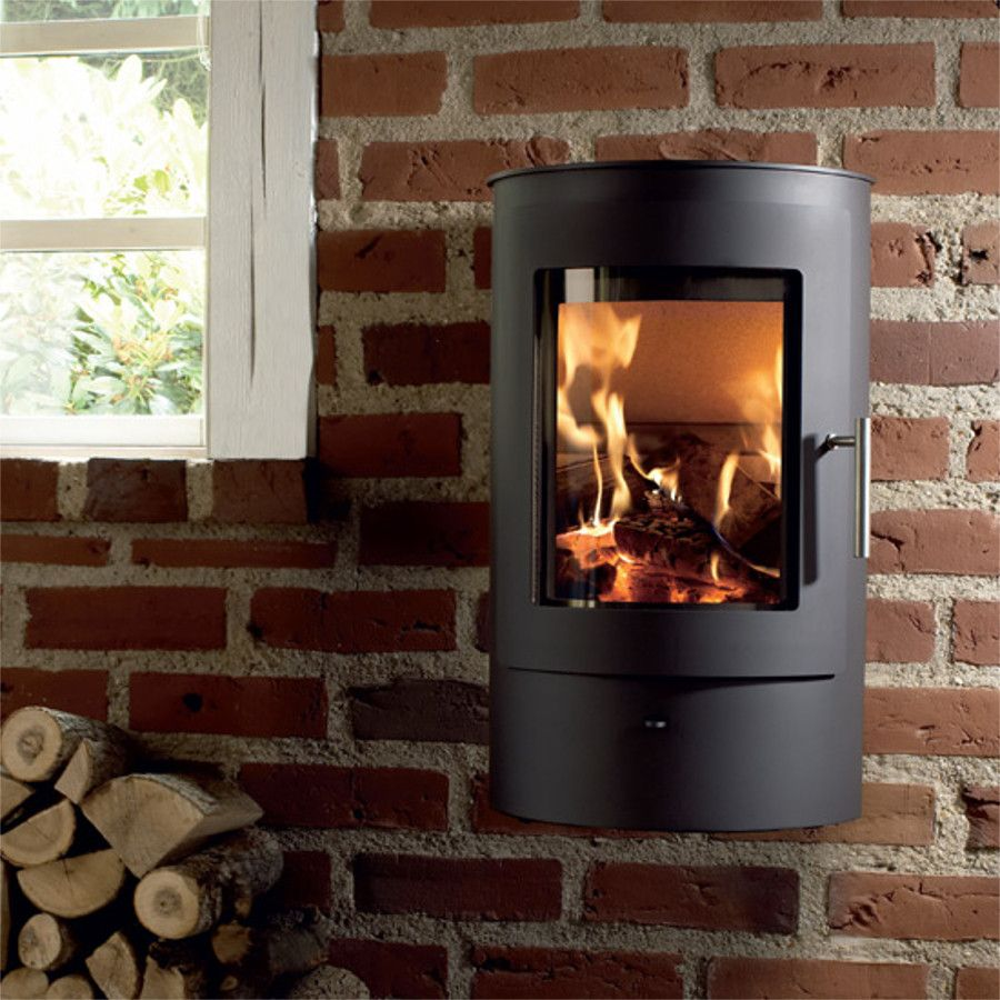 Fine Westfire Uniq 21 Wall Hung Woodburning Stove 5Kw Best Image Libraries Counlowcountryjoecom