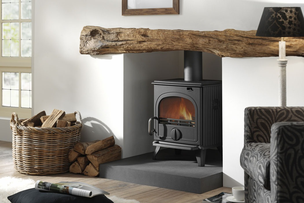 Dru 44 Cast Iron Wood Burning Stove