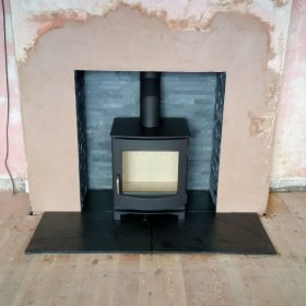 A recent Stove Installation Haxby York
