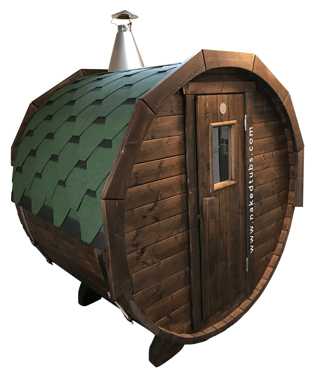 Naked Flame Wood-Fired Sauna Duet 2 Adults