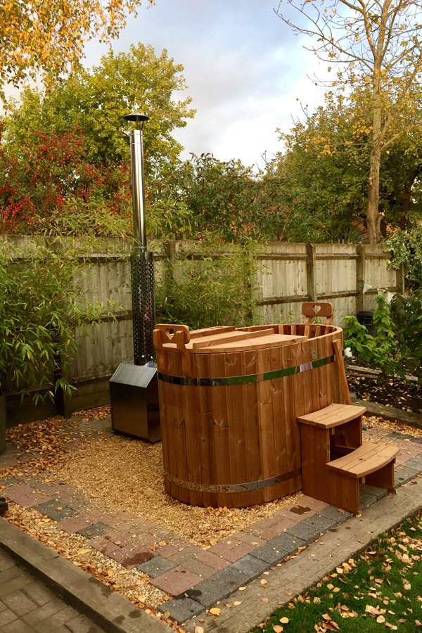 Order The Luvtub Naked Flame Hot Tub From Hot Box Stoves