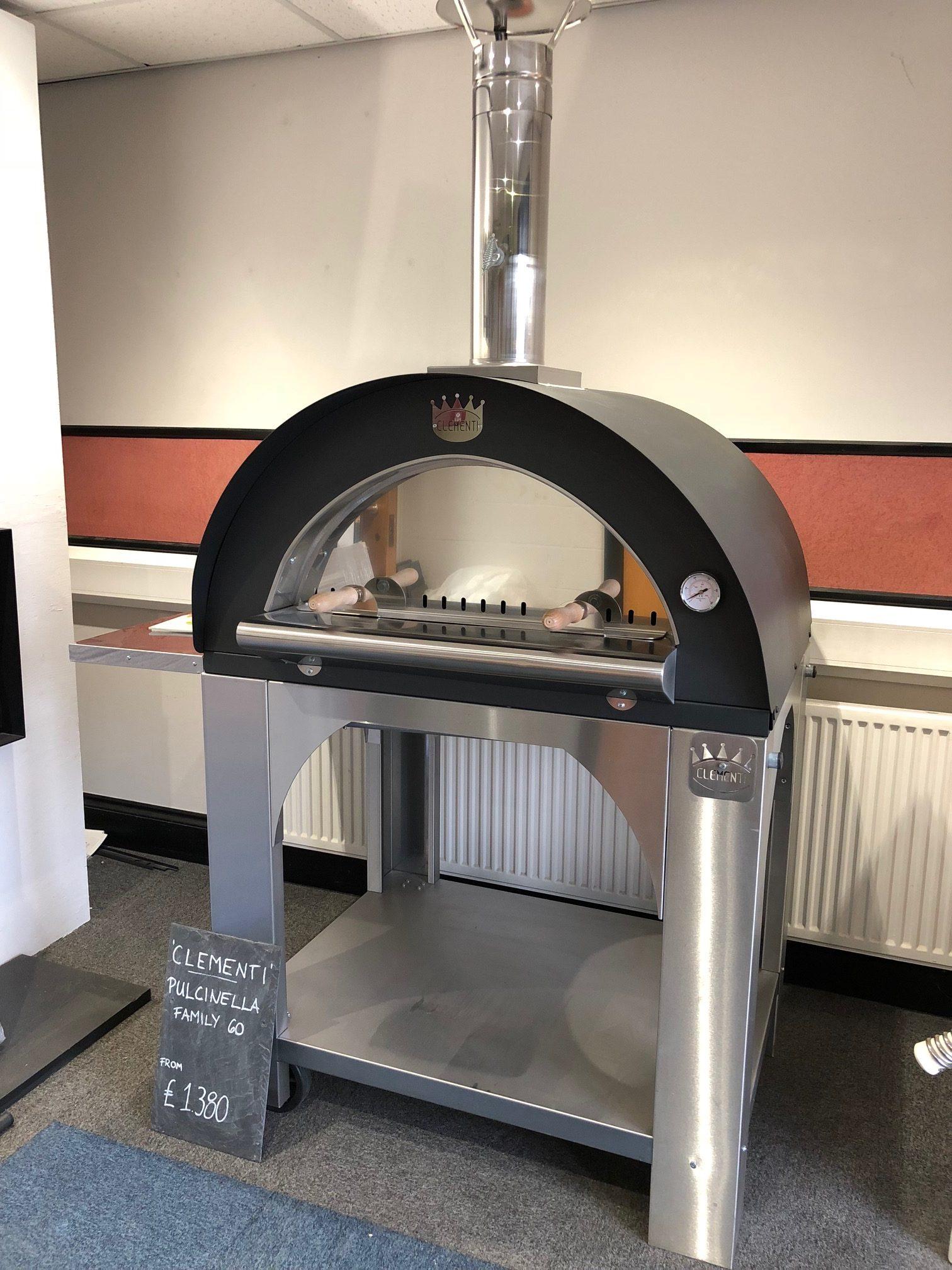 Clementi Pulcinella Pizza Oven 80 X 60cm Ex Display Unused