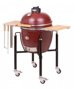 Monolith Classic Red Smoker Grill