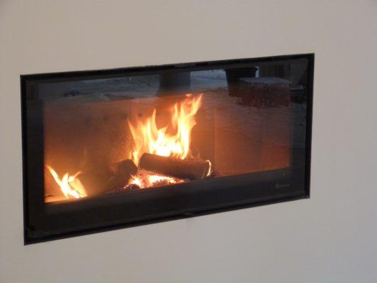 wood burning inset stove, DG Vision 80