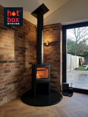Wood Burning Stoves York Log Burner Installation Multi