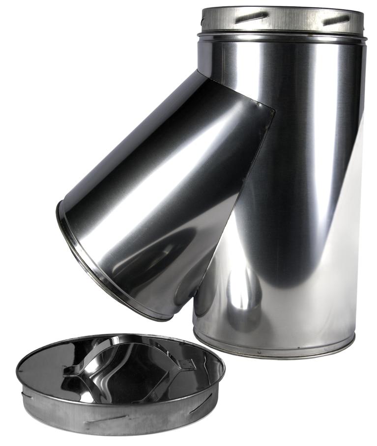 7 inch 135° Tee including Drain Cap
