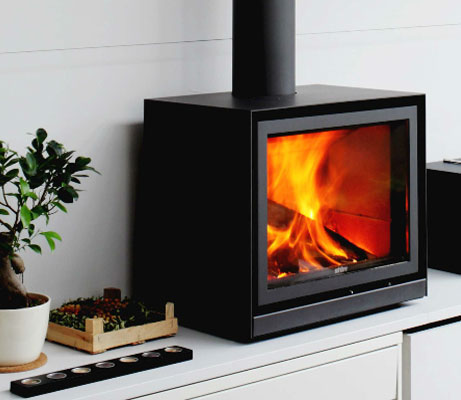 factory authentic new products official photos Stuv 16/58 Cube | Wood Burning Stove